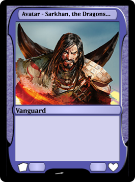 Avatar - Sarkhan, the Dragonspeaker