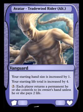 Avatar - Tradewind Rider (Alt.)