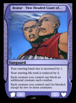 Avatar - Two-Headed Giant of Foriys