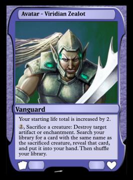 Avatar - Viridian Zealot